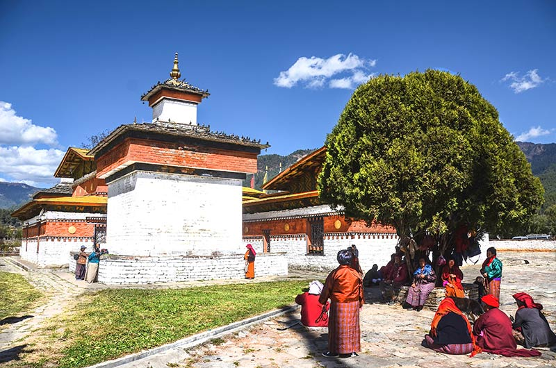 Jambay Lhakhang Buddhist temple