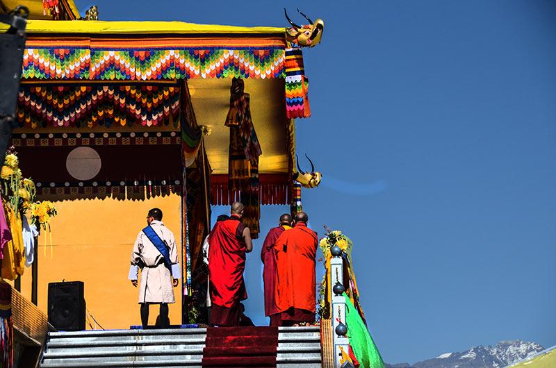 Trashigang in eastern Bhutan