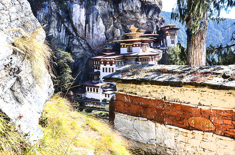 Taktshang monastery (the Tiger's Nest)