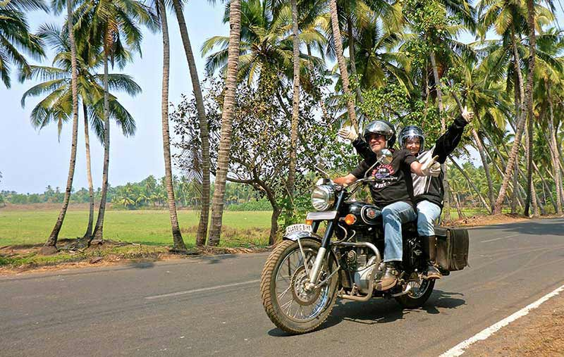 On the roads of south Goa