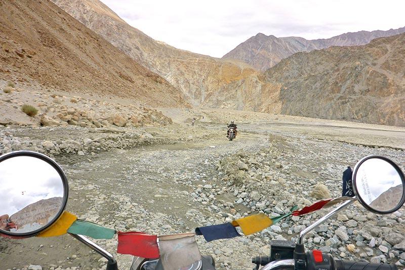 Road from Keylong to Killar