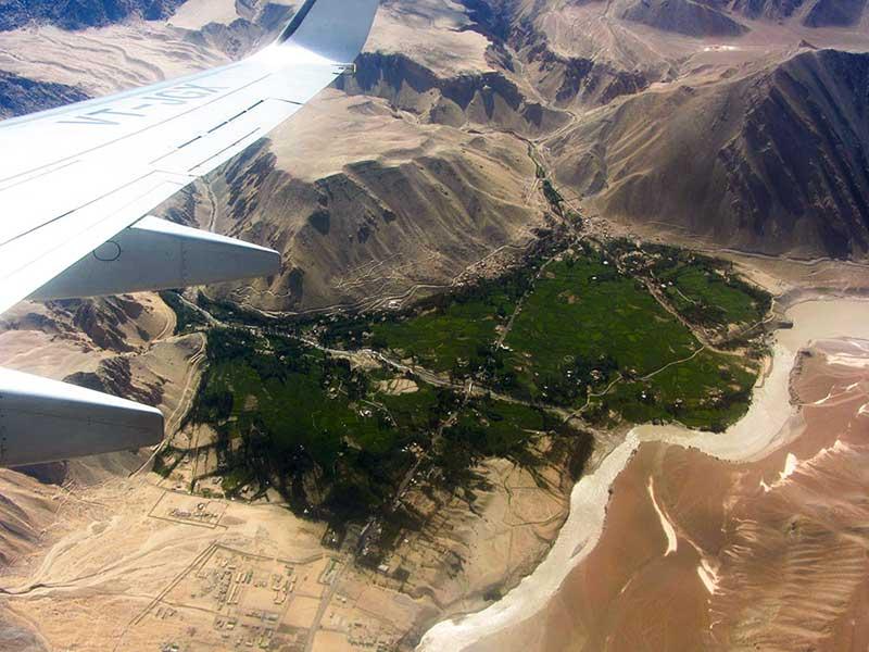 Arrival in Leh