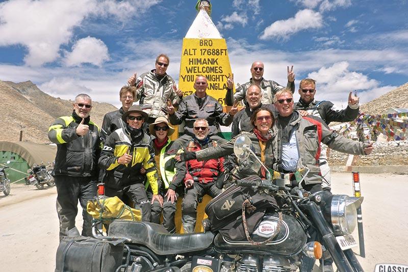 At the Chang La Pass