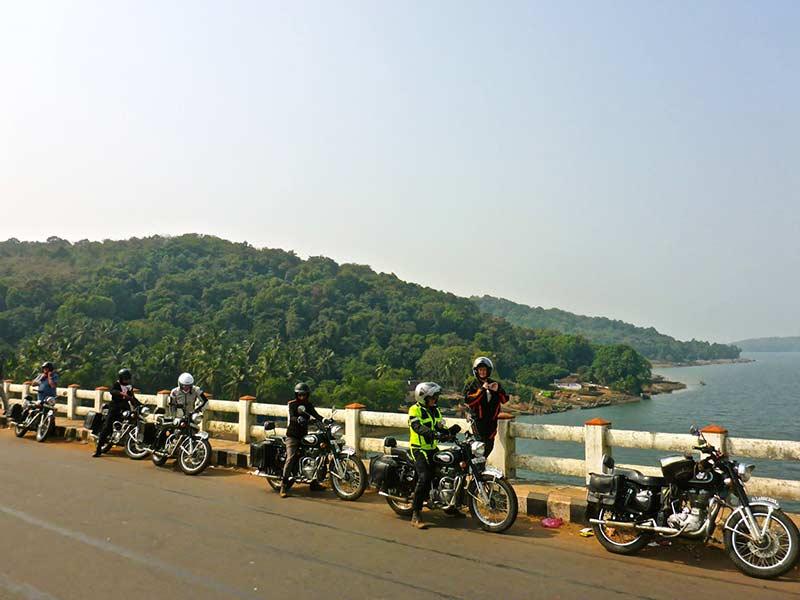 Bridge on Kali river