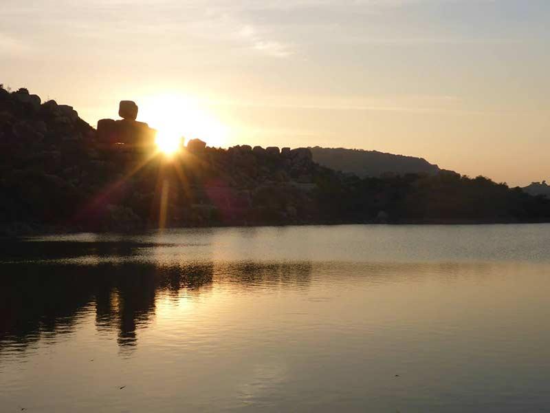 View of Kali river