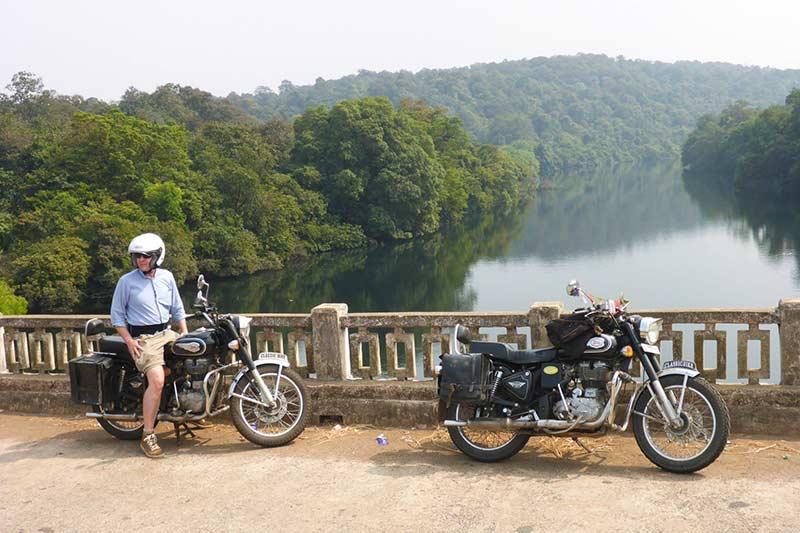 Bridge near Netravali Wildlife Park