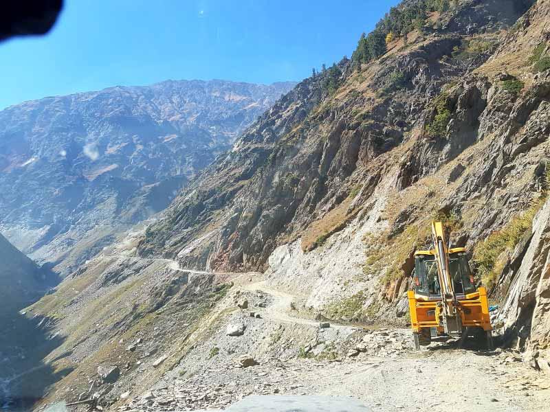Kargil to Rangdum road