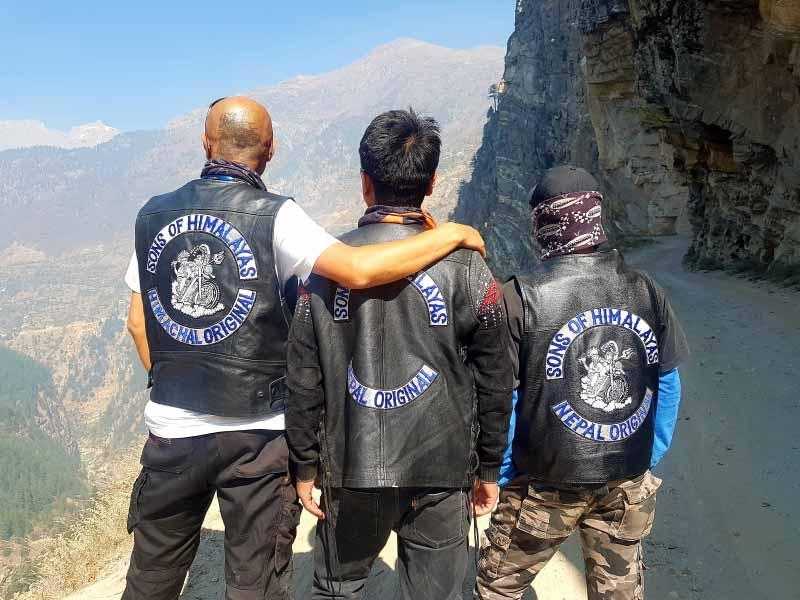 Panoramic view of Zanskar Valley