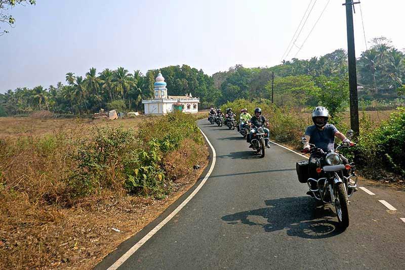 Arrival at Kerala