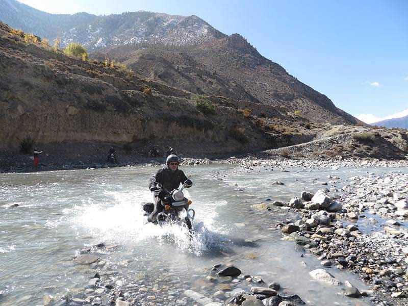 Ghasa to Kalapani road